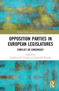 Opposition Parties in European Legislatures: Conflict or Consensus