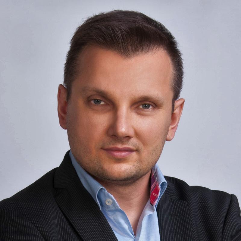 photograph of Maciej Górecki