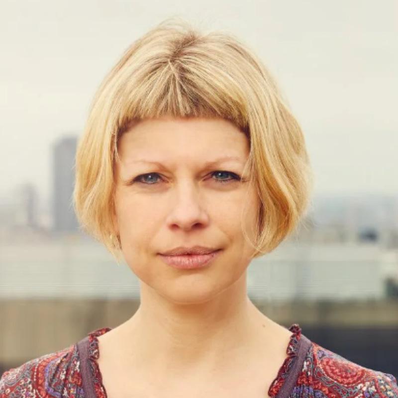 photograph of Christel Koop