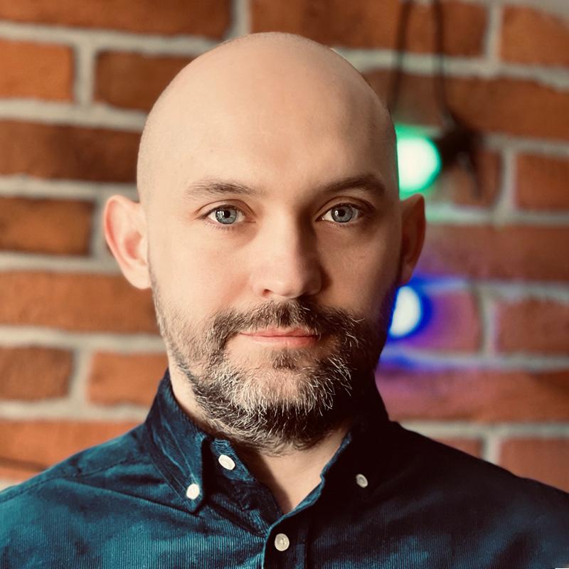 photograph of Michał Pierzgalski