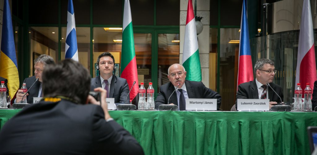 Foreign ministers of the Visegrad Group discuss Ukraine