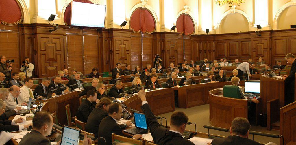 Saeima, the Latvian Parliament