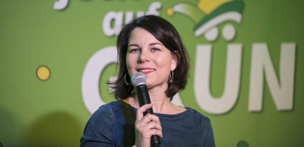 Annalena Baerbock, leader of the German Green Party, Die Grüne