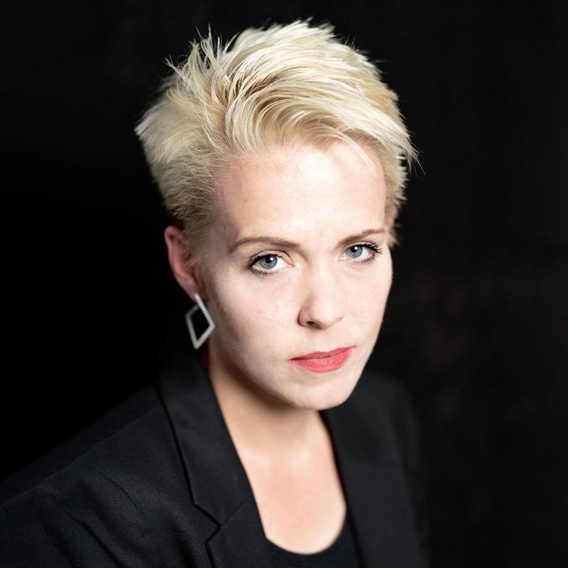 photograph of Dannica Fleuß