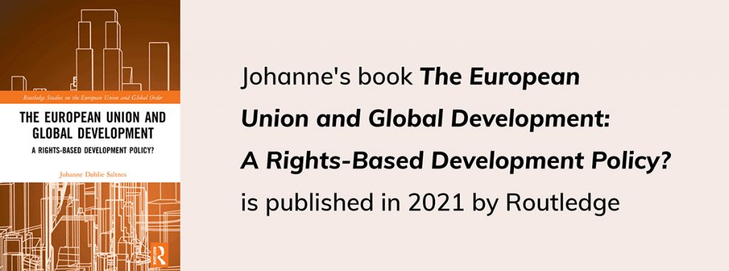 The European Union and Global Development: A Rights-Based Development Policy?