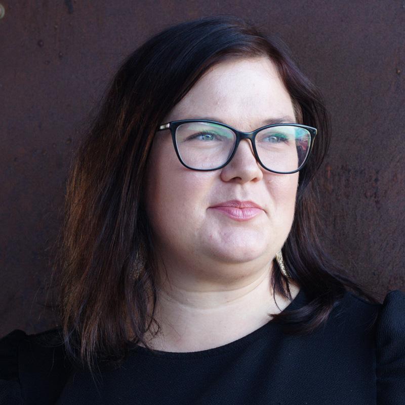 photograph of Šárka Homfray